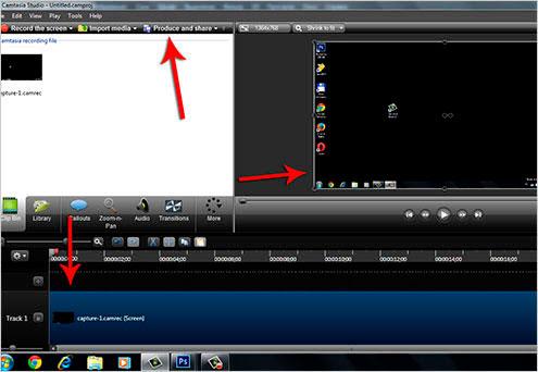 как записать видео с экрана компьютера