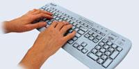 как правильно работать на клавиатуре