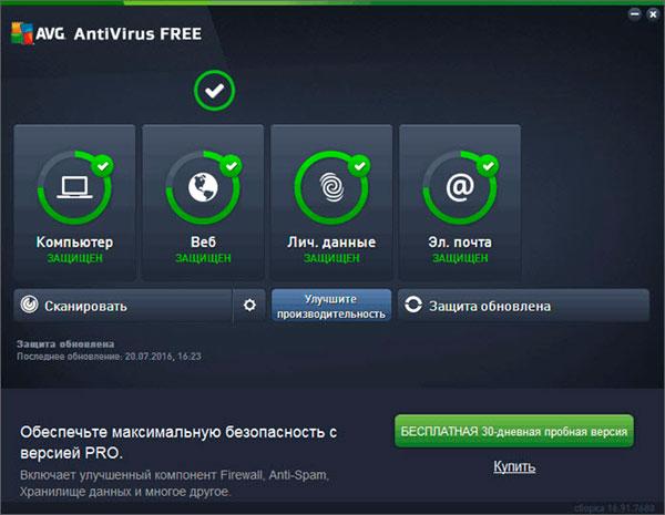 бесплатные антивирусы