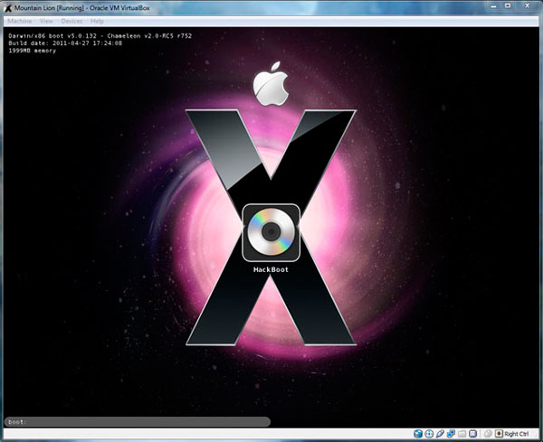 как установить mac os x на windows